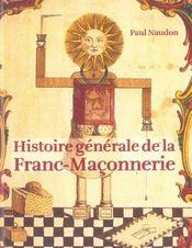 Histoire generale de la franc-maconnerie - Intérieur - Format classique