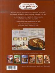 15 recettes de Geoffroy ; les patates - 4ème de couverture - Format classique