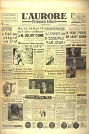 Aurore France Libre (L') N°1343 du 07/01/1949 - Couverture - Format classique