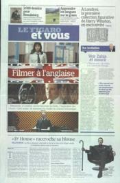 Figaro Et Vous (Le) N°21003 du 10/02/2012 - Couverture - Format classique