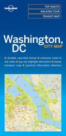 Vente  City map ; Washington DC (édition 2017)  - Collectif - Collectif Lonely Planet