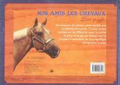 Nos amis les chevaux - 4ème de couverture - Format classique