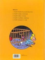 Toupet Pulverise L'Obstacle - 4ème de couverture - Format classique