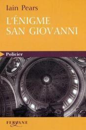 L'Enigme San Giovanni - Couverture - Format classique