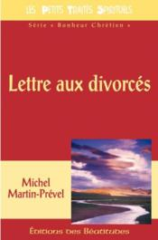 Lettre Aux Divorces - Couverture - Format classique