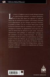 Les idées passent-elles la manche ? savoirs, représentations, pratiques france angleterre x- xxe siècles - 4ème de couverture - Format classique