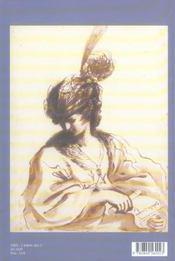 Carnets d'etudes n 4 dessins italiens de la collection jean bonna - 4ème de couverture - Format classique
