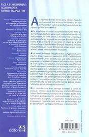 Face A L'Enfermement : Accompagner, Former,Transmettre. Petit Traite De L'Ouvert - 4ème de couverture - Format classique