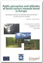 Public perception and attitudes of forest owners towards forest in Europe - Couverture - Format classique