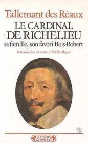 Le cardinal de richelieu - Couverture - Format classique