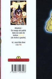 Shaman King T9 - 4ème de couverture - Format classique