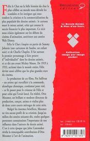 Felix Le Chat, La Folle Histoire Du Chat Le Plus Celebre - 4ème de couverture - Format classique