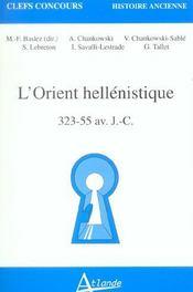 L'orient hellenistique - Intérieur - Format classique