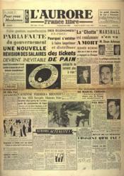 Aurore France Libre (L') N°1344 du 08/01/1949 - Couverture - Format classique