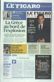 Figaro (Le) N°21004 du 11/02/2012 - Couverture - Format classique