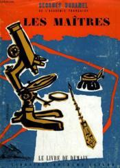Les Maitres Le Livre De Demain N° 75. - Couverture - Format classique