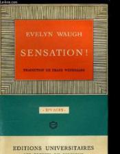 Sensation ! - Couverture - Format classique
