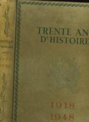 1819-1948 Trente Ans D'Histoire De Clemenceau A De Gaulle - Couverture - Format classique