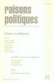 Crime et châtiment - Intérieur - Format classique