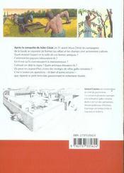 Les villas gallo-romaines - 4ème de couverture - Format classique