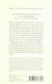 Les soixante-seize jours de marie-antoinette à la conciergerie t.1 ; la conjuration de - 4ème de couverture - Format classique