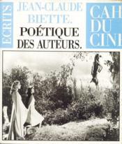 Poétique des auteurs - Couverture - Format classique