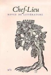 Revue Chef-Lieu N.2 - Couverture - Format classique