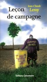 Leçon de campagne - Couverture - Format classique