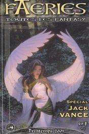 Faeries 4 Special Jack Vance - Intérieur - Format classique