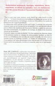 Grand livre de la psychogénéalogie - 4ème de couverture - Format classique