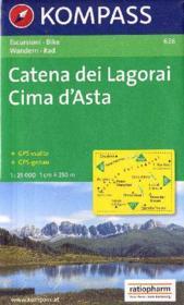 Catena dei Lagorai Cima d'Asta - Couverture - Format classique