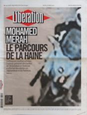 Liberation N°9599 du 22/03/2012 - Couverture - Format classique