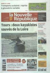 Nouvelle Republique (La) N°20468 du 13/02/2012 - Couverture - Format classique