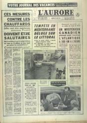 Aurore (L') N°6831 du 17/08/1966 - Couverture - Format classique