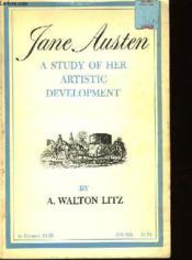 Austen Jane A Study Of Her Artistic Development - Couverture - Format classique