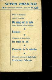 Du Sang Sur La Piste - N°10 - Blood Stained Track - Couverture - Format classique