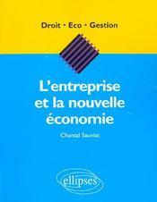 L'Entreprise Et La Nouvelle Economie - Intérieur - Format classique