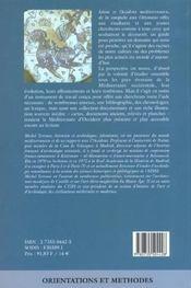 Islam Et Occident Mediterraneen ; De La Conquete Aux Ottomans - 4ème de couverture - Format classique