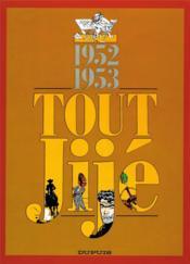 Tout Jije t.2 ; 1952-1953 - Couverture - Format classique