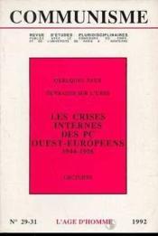 Communisme N29/31 1992 - Couverture - Format classique