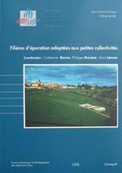 Filières d'épuration adaptées aux petites collectivités - Couverture - Format classique