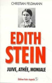 Edith Stein Juive Athee - Couverture - Format classique