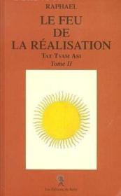 Le Feu De La Realisation T.2 - Couverture - Format classique