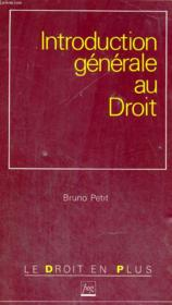Vente  Intro General Au Droit  - Petit