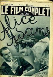 Le Film Complet Du Jeudi N° 1768 - 15e Annee - Alice Adams - Couverture - Format classique