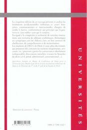 Institutions Juridictionnelles 5e Edition - 4ème de couverture - Format classique
