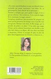 Le Pese-Personne De Doriane G. - 4ème de couverture - Format classique