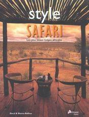 Style Safari - Intérieur - Format classique