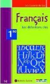 Français ; les repères essentiels ; 1ère - Intérieur - Format classique