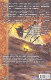 Echiquier D'Einar - 4ème de couverture - Format classique